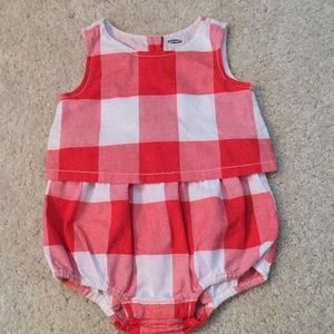 Old Navy girls romper 12-18m